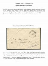 02 Fiji Leper colony at Makogai - Free outgoing mail consession