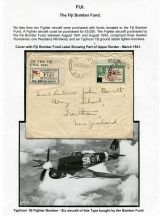 03 Fiji Bomber Fund - Cover from March 1941