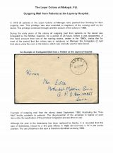 04 Fiji Leper colony at Makogai - Mail from patients
