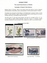 05 Hawai'i Post Privately Owned Local Service and Stamps - Examples of Post Stamps