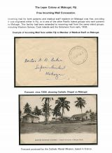 07 Fiji Leper colony at Makogai - Free incoming mail consession