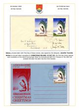 07 G&EI 1969 Christmas - FDC and Aerogramme