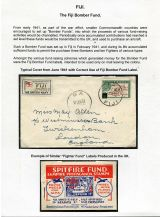08 Fiji Bomber Fund - Cover from June 1941