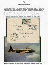 09 Fiji Bomber Fund - Cover from December 1941