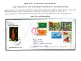 09 Hawai'i Post Privately Owned Local Service and Stamps - Local Post transferred to US Post for Internatioal Delivery