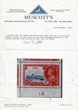10 Fiji - 1935 Silver Jubilee of King George V & Queen Mary - Certification