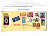 10 Hawai'i Post Privately Owned Local Service and Stamps - Local Post transferred to US Post for Internatioal Delivery