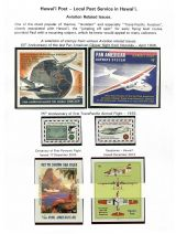 13 Hawai'i Post Privately Owned Local Service and Stamps - Aviation related Issues