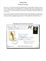 16 Hawai'i Post Privately Owned Local Service and Stamps - End of the Story