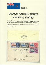 21 Fiji - 1935 Silver Jubilee of King George V & Queen Mary - Grand Pacific Hotel cover