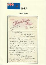 22 Fiji - 1935 Silver Jubilee of King George V & Queen Mary - Grand Pacific Hotel letter