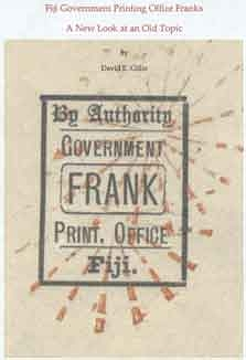 Fiji Government Printing Office Franks