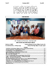 The October 2019 issue of Pacifica