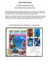 09 Lord Howe Island - Establishment of Courier Post - Second Pictorial Issue Marie Park