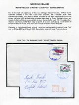 09 Norfolk Island - Re-introduction of fourth Local Post booklet stamps