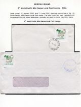 24 Norfolk Island - 6th South Pacific Mini Games Local Post stamps 2002