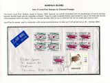 31 Norfolk Island - Local Post stamps for external postage