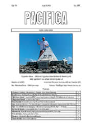 The April 2021 issue of Pacifica